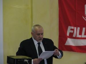 Sauro Serri, segretario Fillea/Cgil Modena