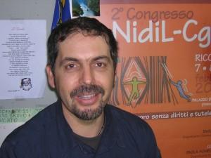 Claudio Argilli, segretario Nidil CGIL Modena