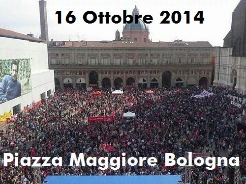 16 ottobre 2014 - sciopero generale CGIL Emilia Romagna