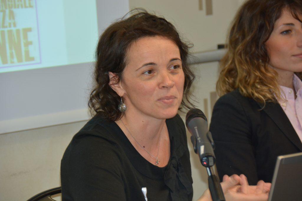Tamara Calzolari, segreteria Cgil Modena