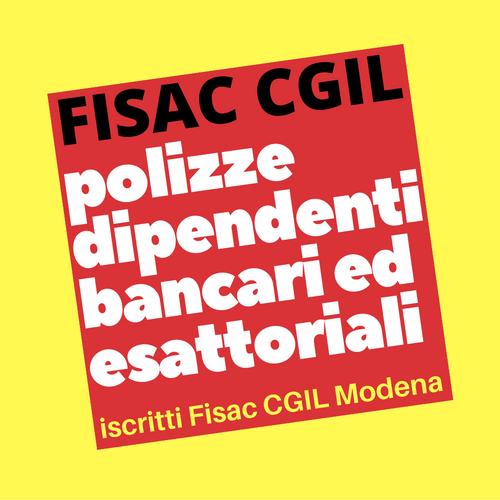 Polizze dipendenti bancari ed esattoriali iscritti Fisac