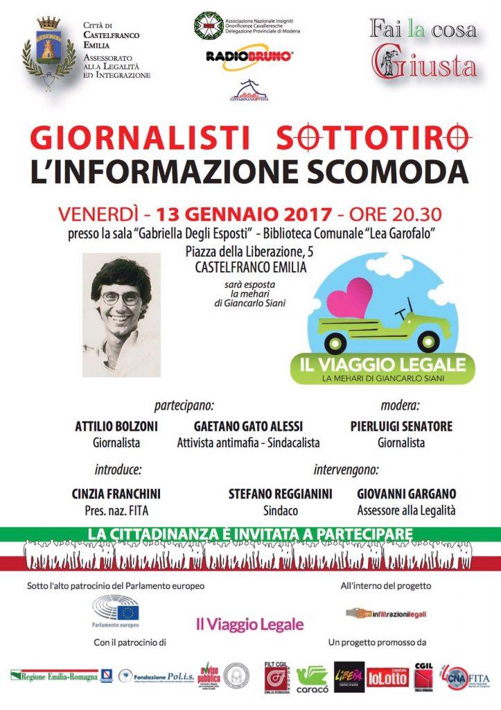 viaggio legale, Castelfranco Emilia