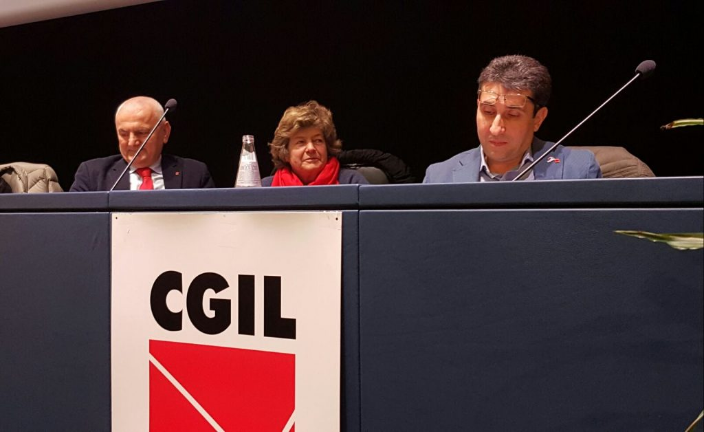Assemblea generale Cgil ER, Luigi Giove nuovo segretario regionale