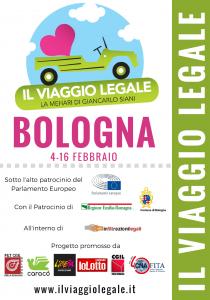 viaggio legale, tappa Bologna 4-16.2.2017