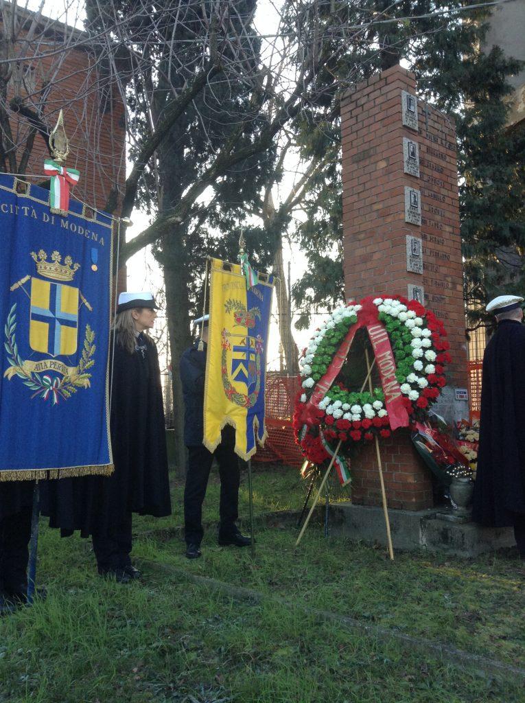 9.1.17,commemorazione 67° eccidio Fonderie Riunite Modena