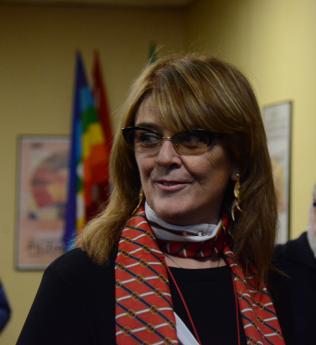 Manuela Gozzi segretaria generale Cgil Modena