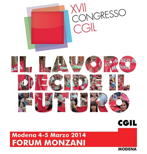 XVII congresso Cgil - Modena 2014