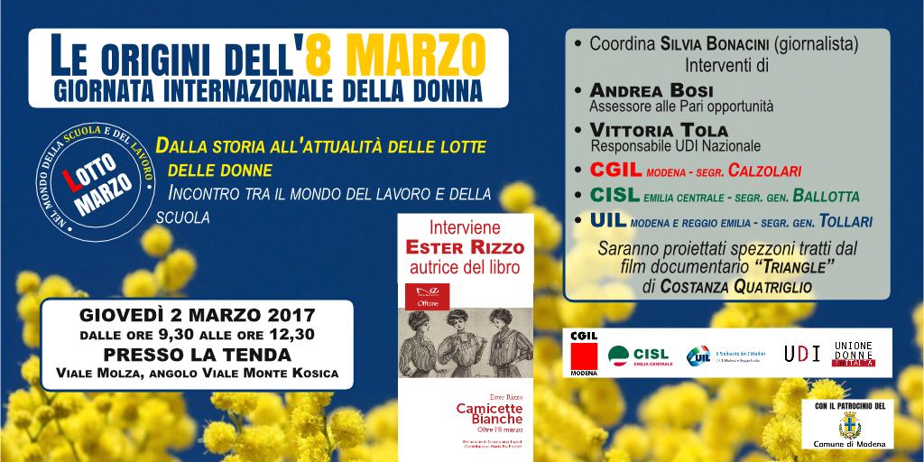 iniziativa 8 marzo 2017