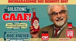 2017 dichiarazione redditi CSC-CGIL Modena convenzionato CAAF CGIL Emilia Romagna