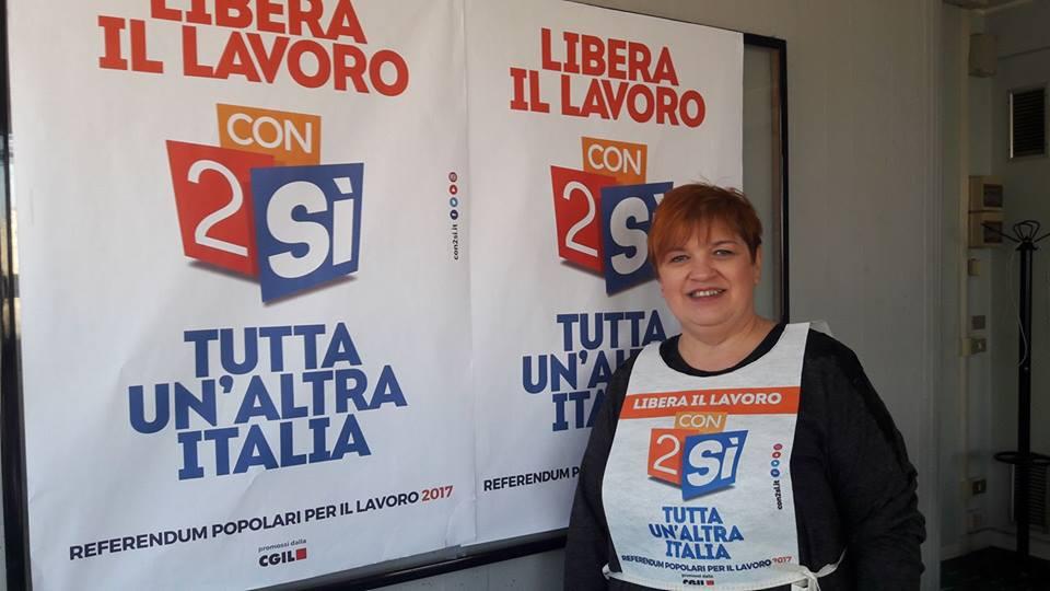 referendum lavoro, campagna elettorale a Modena, Carpi, Vignola 17-18-19 marzo 2017