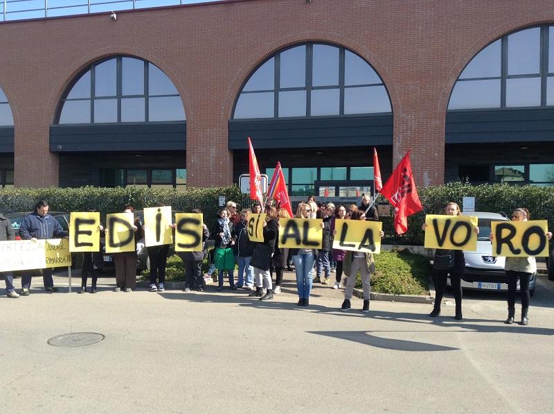 sciopero Edis Modena 14.3.17