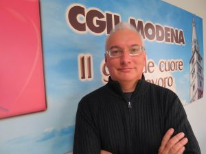 Marco Bottura, segretario Flai Cgil Modena
