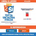 con2sì tutta un'altra Italia - Referendum Lavoro su voucher ed appalti