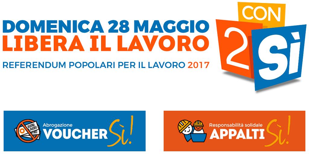 referendum lavoro iniziative 19-20 aprile