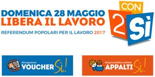 Referendum Lavoro - 28 Maggio 2017