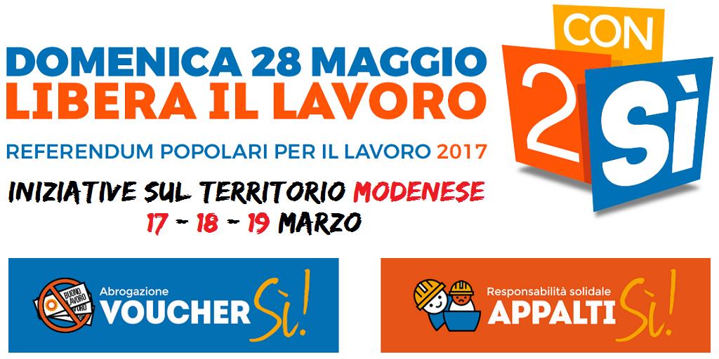 referendum lavoro INIZIATIVE_17-18-19-marzo nel modenese