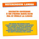 referendum lavoro - non smobilitiamo fino a che decreto non diventa legge