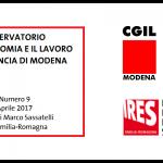 Osservatorio economia e lavoro Cgil Modena - Ires Emilia-Romagna