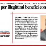 Dichiarazione Poletti su verifica abusi dimissioni - 6/4/2017