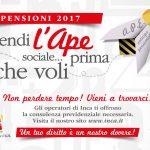APE sociale - Anticipo Pensionistico