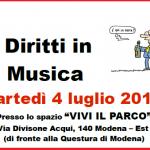 DIRITTI IN MUSICA, SPI CGIL 4.7.17