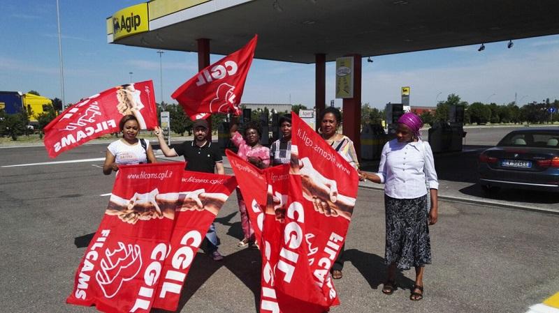 sciopero pulizie distributori autostradali