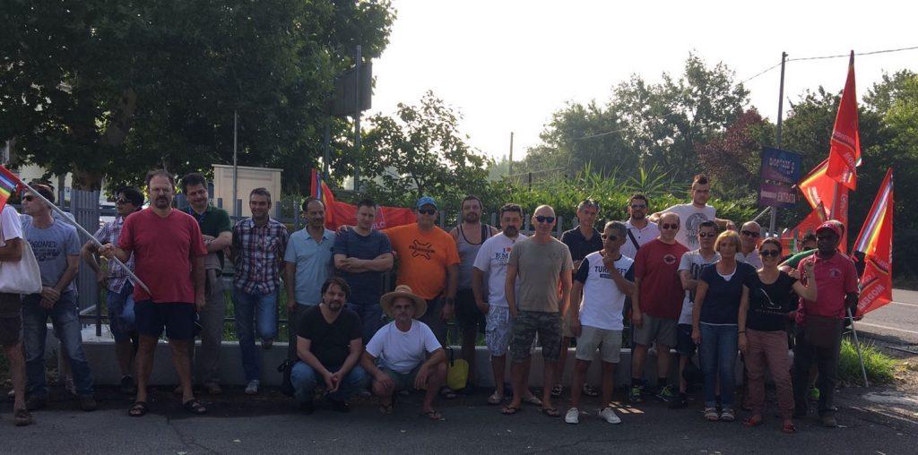 Sciopero e oresidio in Albertazzi - 12/7/2017