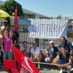 vertenza G. Bellentani 1821, gruppo Citterio a Vignola (10/7/2017)