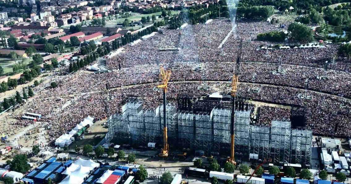 concerto Vasco Rossi al Parco Ferrari - Modena, 1 luglio 2017
