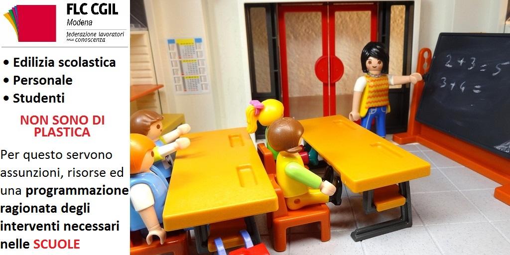 Edilizia scolastica e carenza del personale