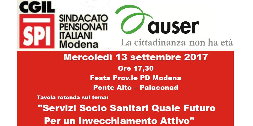 Spi Cgil Modena: quale futuro per un invecchiamento attivo