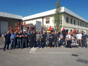 sciopero PM S.Cesario