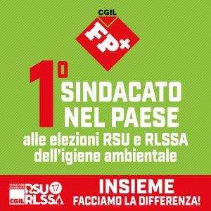 rsu igiene ambiente 2017 - fp cgil primo sindacato