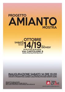 Comunicare il rischio amianto. Mostra fotografica Bologna 14-19 ottobre 2017