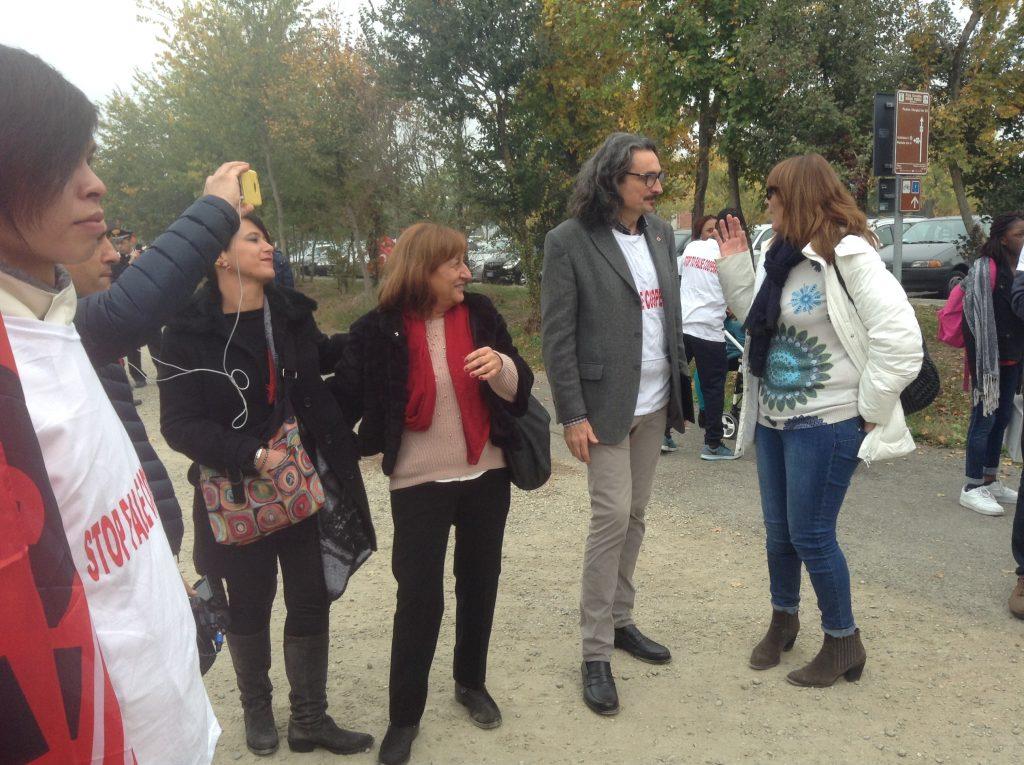 Camusso a Castelnuovo incontra lavoratori appalti cooperative, 4.11.17
