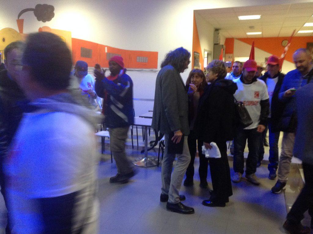 Camusso a Castelnuovo incontra lavoratori cooperative, 4.11.17