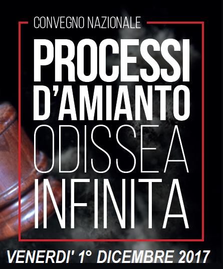Processi d'amianto, un'odissea infinita, 1.12.17 Reggio Emilia