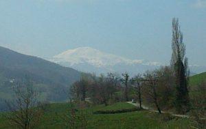 Appennino modenese: panorama del monte Cimone