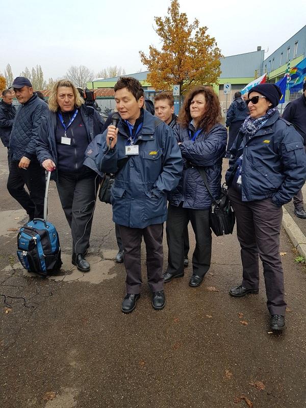 Sciopero lavoratori Seta - 10/11/2017