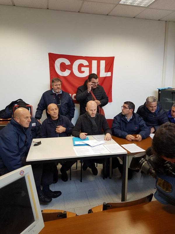 conferenza stampa lavoratori Seta 10.11.17