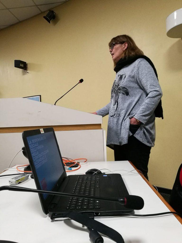 Iniziativa Filctem Cgil Modena su Responsabilità sociale dell'impresa