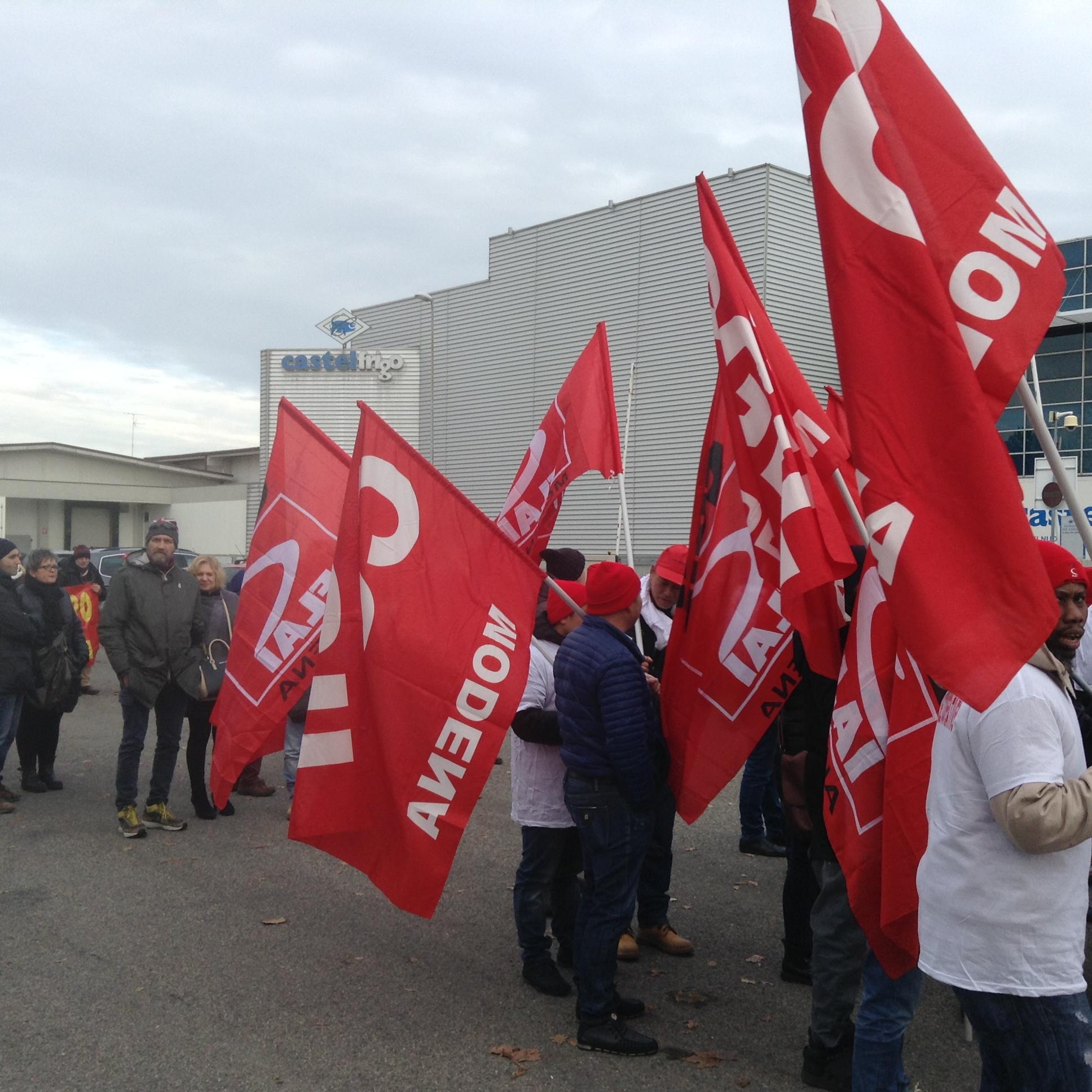 18 dicembre castelfrigo manifestazione e sciopero