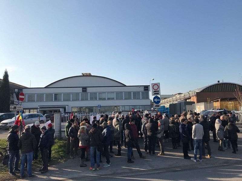 sciopero Ascot Ceramiche 19.12.17