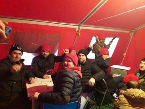 morale alto Tenda Rossa castelfrigo