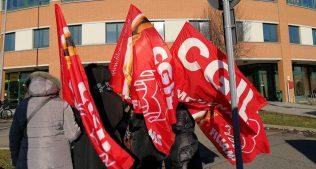 Sciopero lavoratori pulizie presso Poste Italiane Modena