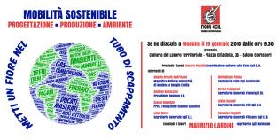 mobilità sostenibile, Modena 15.1.18