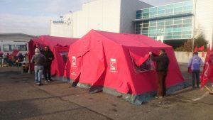 castelfrigo presidio tenda rossa