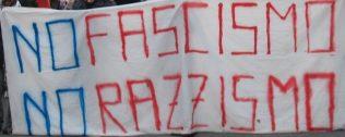 no fascismo - no razzismo