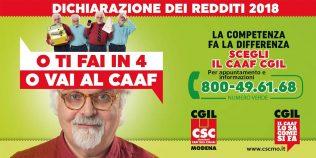 Csc - Caaf Cgil Modena - Campagna fiscale 2018