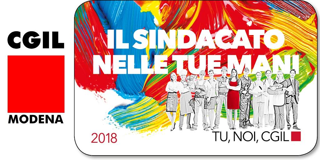 Tessera Cgil 2018